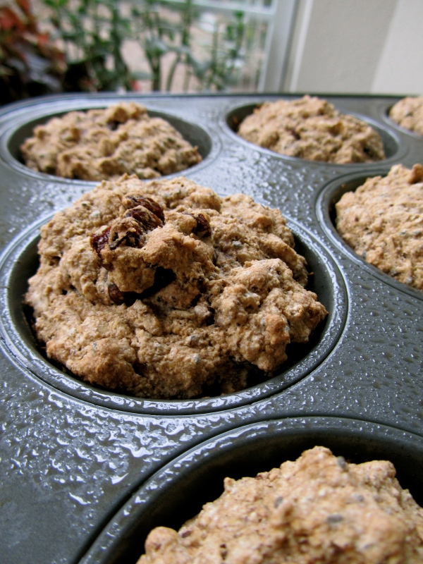 Maple Oatmeal Breakfast Muffin greatness