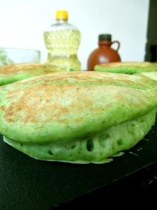 cooking pancake