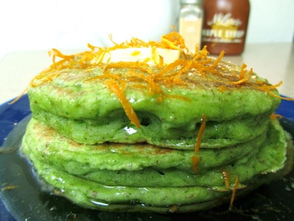 fluffy pancake stack