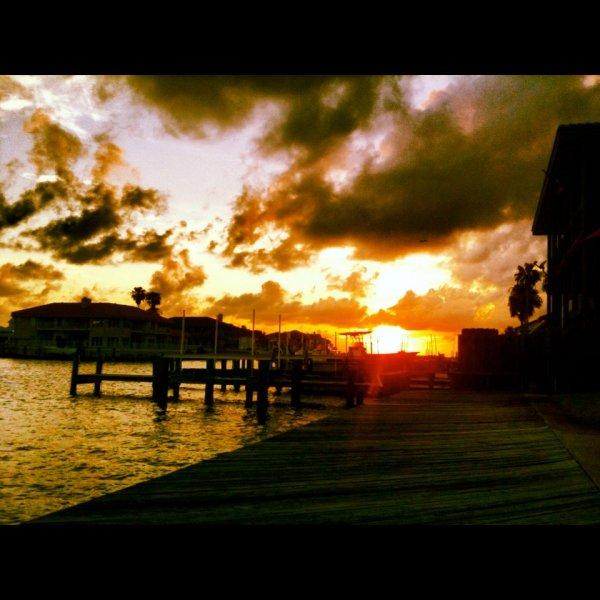 kick-ass sunset