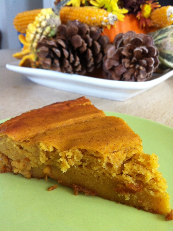 amazing pumpkin pie slice